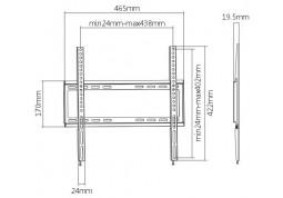 Настенное крепление Brateck KL22-44F купить