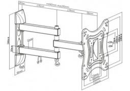Настенное крепление Brateck LPA51-223 купить