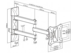 Настенное крепление Brateck LPA51-113 недорого