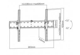 Настенное крепление Brateck KL21G-46T в интернет-магазине