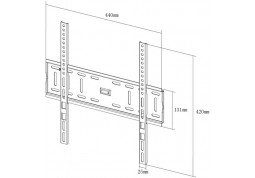 Настенное крепление X-Digital STEEL SF305 цена