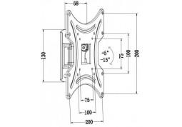 Настенное крепление i-Tech LCD-421 недорого