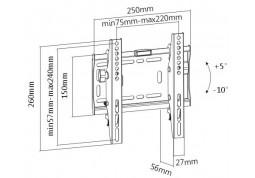 Настенное крепление Brateck LP42-22DT в интернет-магазине