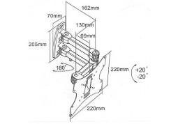 Настенное крепление i-Tech LCD-53 дешево