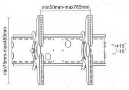 Настенное крепление i-Tech PLB-2 дешево