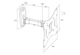Настенное крепление X-Digital STEEL SA225 цена