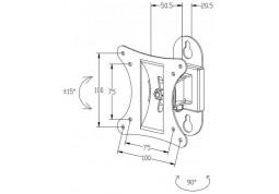 Настенное крепление i-Tech LCD-308 дешево