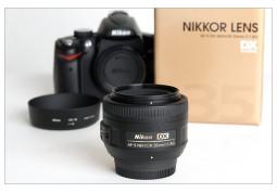 Объектив Nikon 35mm f/1.8G AF-S DX Nikkor - Интернет-магазин Denika