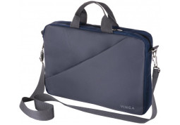 "Сумка для ноутбуков Vinga 15.6"" NB180GR gray-blue (NB180GR)"