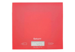 Весы Saturn ST-KS7810 (красный) - Интернет-магазин Denika