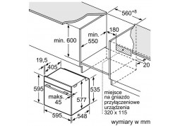 Духовой шкаф Bosch HBG636NS1 описание