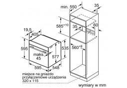 Духовой шкаф Bosch HBG636NS1 недорого