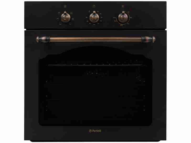 Духовой шкаф Perfelli BOE 6610 BL RETRO