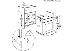 Духовой шкаф Electrolux EZB 5430ANX фото