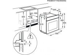 Духовой шкаф AEG BPE842320M купить